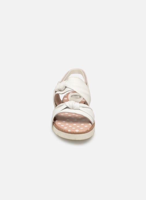 Sandali e scarpe aperte Gioseppo SCAFATI Bianco modello indossato