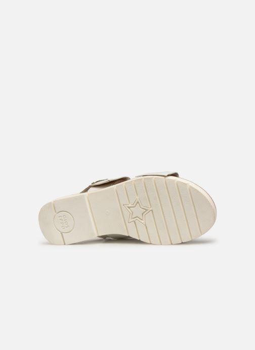 Sandali e scarpe aperte Gioseppo SCAFATI Bianco immagine dall'alto