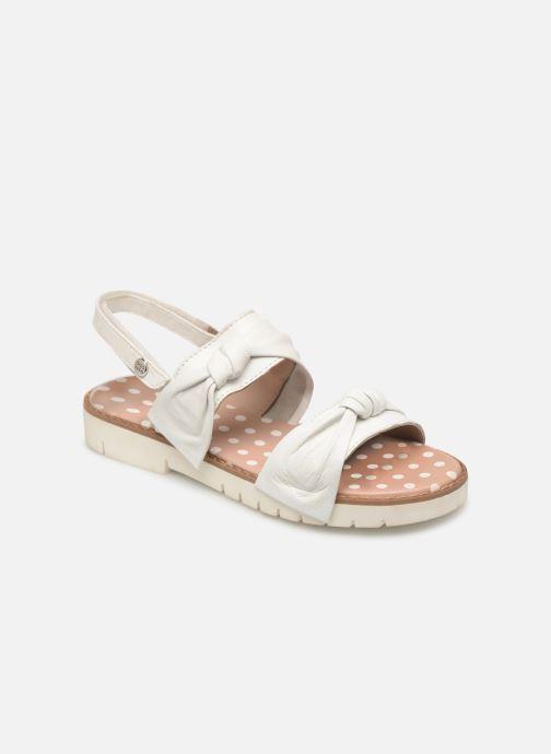 Sandales et nu-pieds Gioseppo SCAFATI Blanc vue détail/paire
