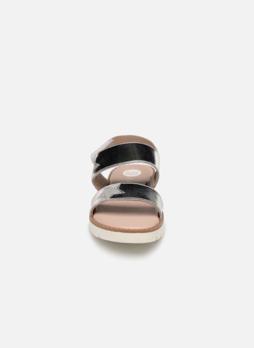 Sandali e scarpe aperte Gioseppo CARRARA Argento modello indossato