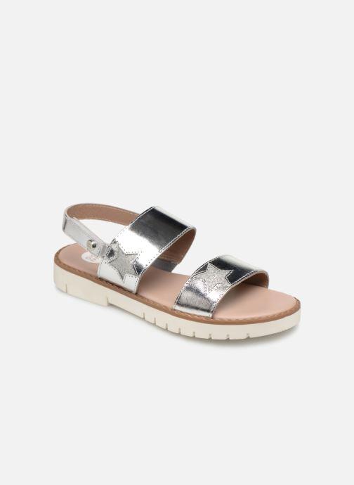 Sandales et nu-pieds Gioseppo CARRARA Argent vue détail/paire