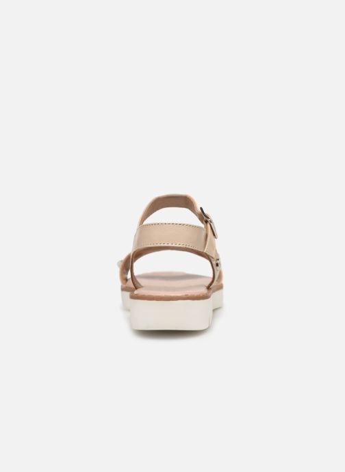 Sandals Gioseppo MERIGNAC Beige view from the right