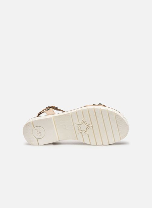 Sandals Gioseppo MERIGNAC Beige view from above