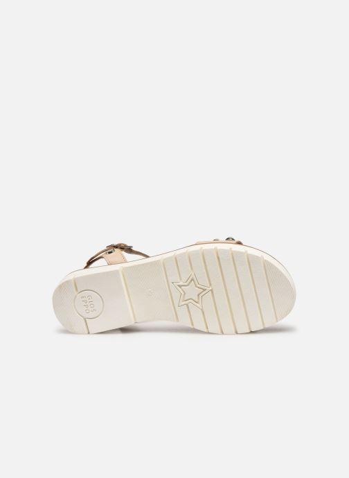 Sandali e scarpe aperte Gioseppo MERIGNAC Beige immagine dall'alto