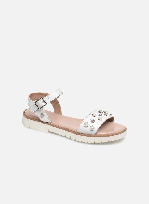 Sandaler Gioseppo MERIGNAC Hvid detaljeret billede af skoene