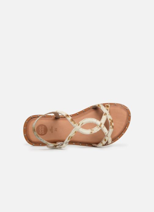Sandales et nu-pieds Gioseppo BAGHERIA Blanc vue gauche