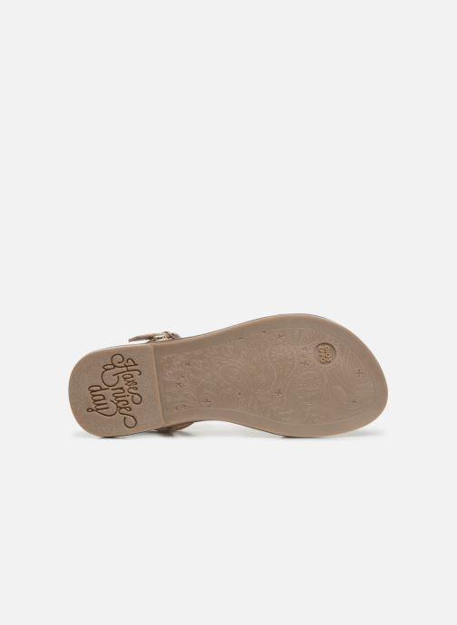 Sandales et nu-pieds Gioseppo BAGHERIA Blanc vue haut