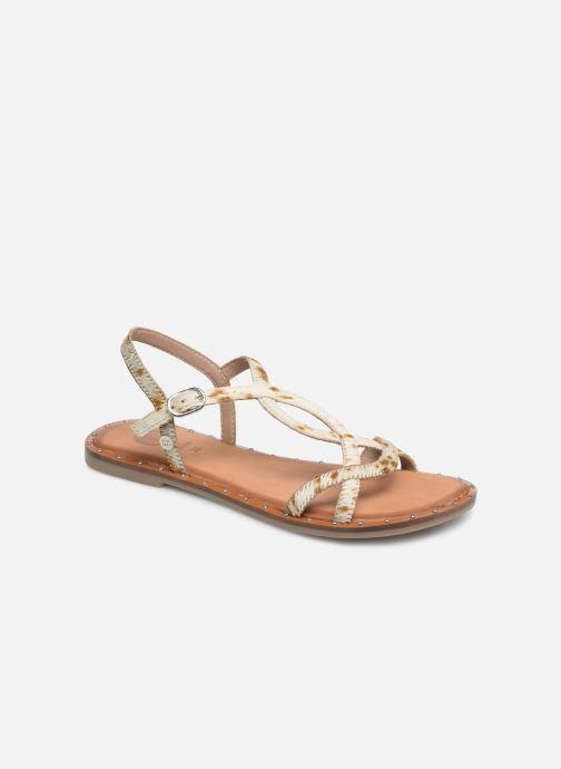 Sandales et nu-pieds Gioseppo BAGHERIA Blanc vue détail/paire