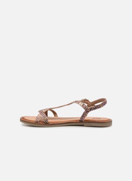 Sandales et nu-pieds Gioseppo BAGHERIA Rose vue face