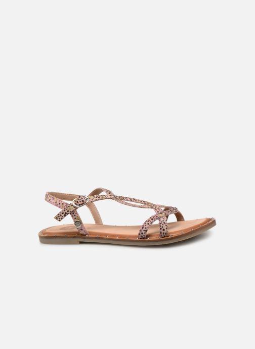 Sandales et nu-pieds Gioseppo BAGHERIA Rose vue derrière