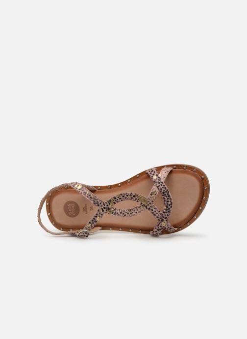 Sandales et nu-pieds Gioseppo BAGHERIA Rose vue gauche