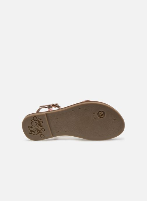 Sandales et nu-pieds Gioseppo BAGHERIA Rose vue haut