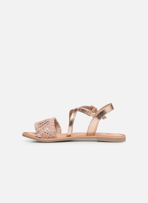 Sandales et nu-pieds Gioseppo CANDELI Rose vue face