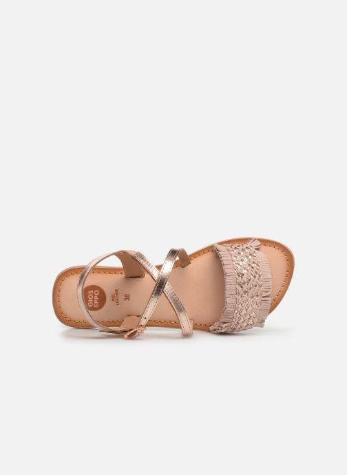 Sandales et nu-pieds Gioseppo CANDELI Rose vue gauche