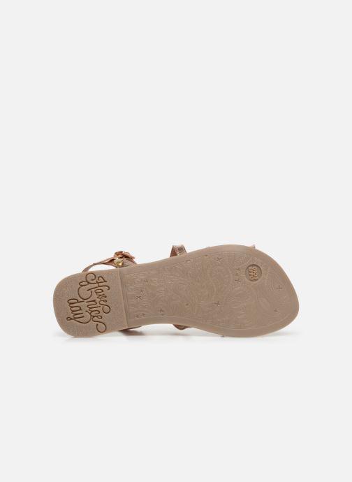 Sandales et nu-pieds Gioseppo CANDELI Rose vue haut