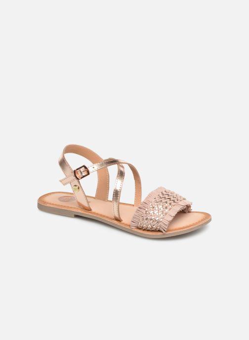 Sandales et nu-pieds Gioseppo CANDELI Rose vue détail/paire