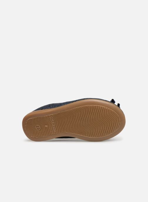 Ballet pumps Gioseppo SAMARA Blue view from above
