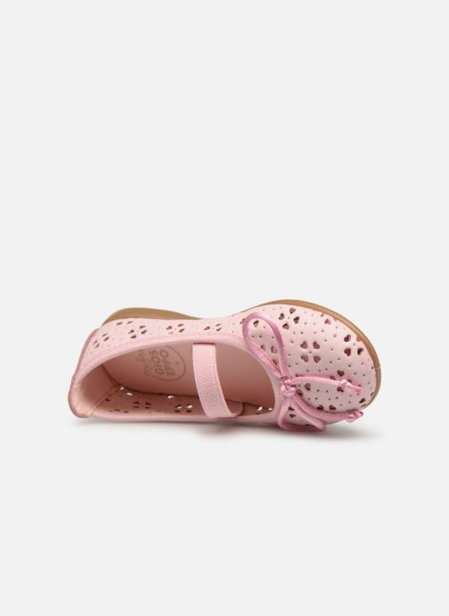 Ballet pumps Gioseppo SAMARA Pink view from the left
