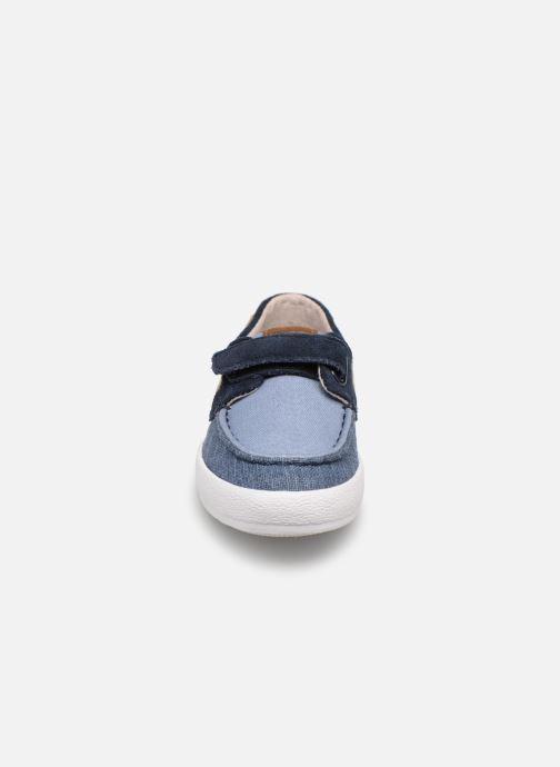 Chaussures à lacets Gioseppo CASORIA Bleu vue portées chaussures