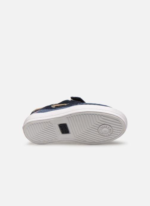 Chaussures à lacets Gioseppo CASORIA Bleu vue haut