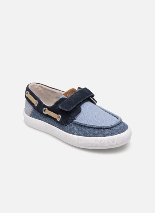 Lace-up shoes Gioseppo CASORIA Blue detailed view/ Pair view