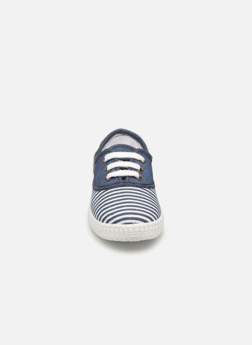 Baskets Gioseppo CLEON Bleu vue portées chaussures