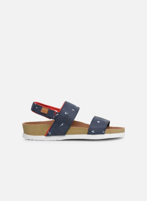 Sandales et nu-pieds Gioseppo MAINZ Bleu vue derrière