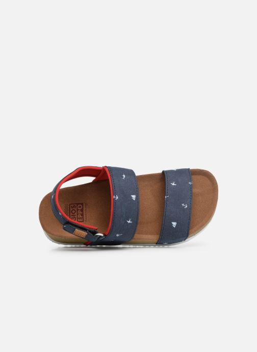 Sandales et nu-pieds Gioseppo MAINZ Bleu vue gauche