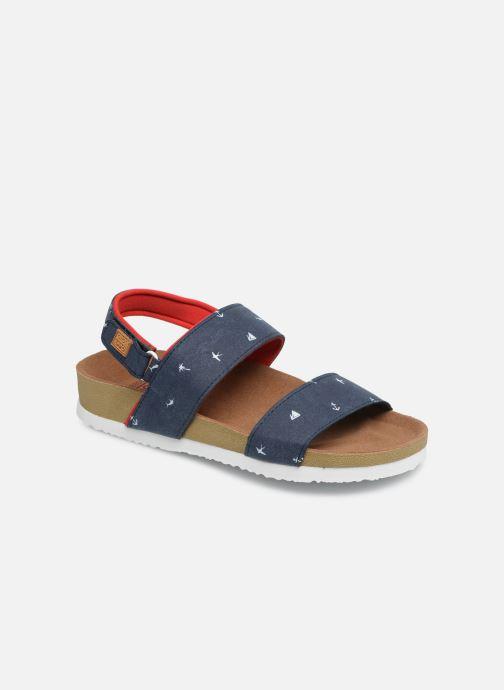 Sandales et nu-pieds Gioseppo MAINZ Bleu vue détail/paire