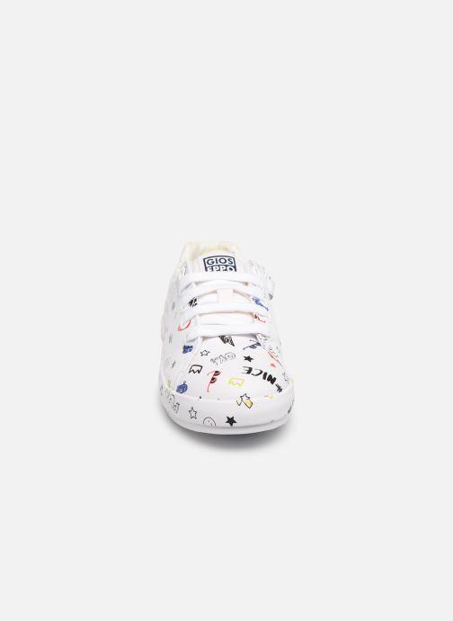 Baskets Gioseppo DUNKERQUE Blanc vue portées chaussures