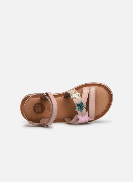 Sandales et nu-pieds Gioseppo CLERMONT Argent vue gauche