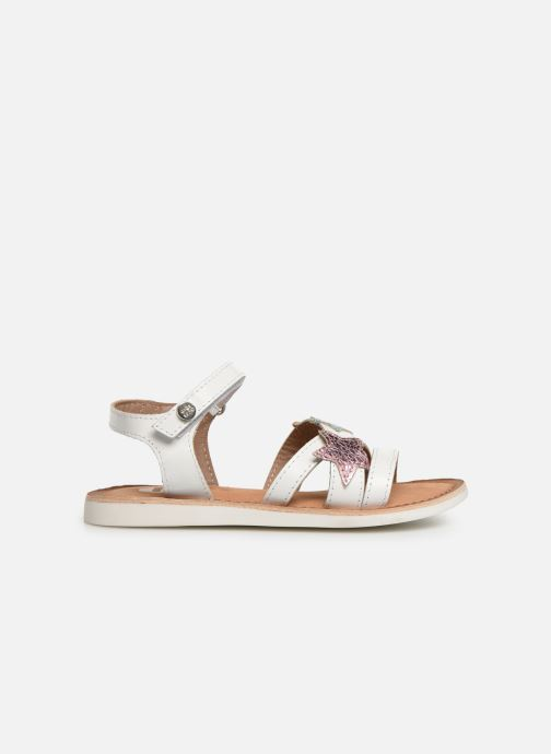 Sandals Gioseppo CLERMONT White back view
