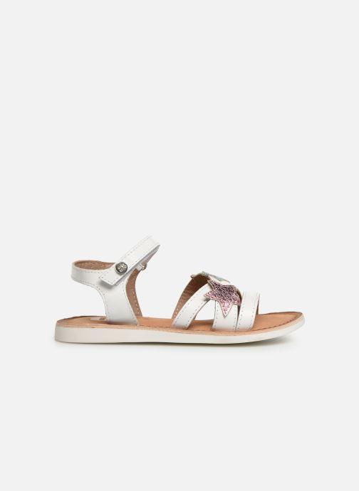 Sandales et nu-pieds Gioseppo CLERMONT Blanc vue derrière