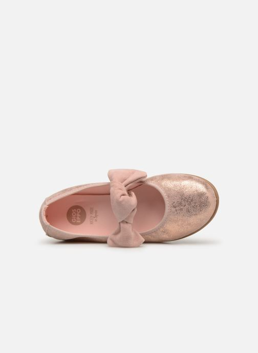 Ballet pumps Gioseppo TIUMEN Pink view from the left