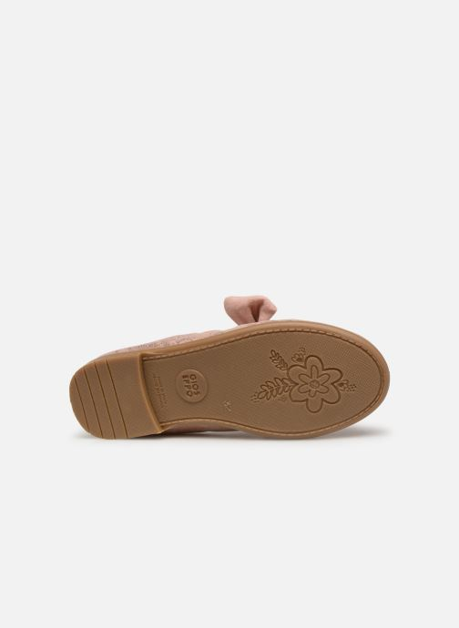 Ballet pumps Gioseppo TIUMEN Pink view from above