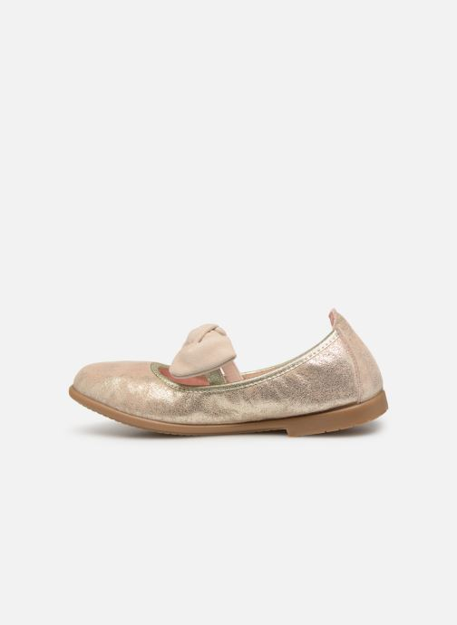 Ballet pumps Gioseppo TIUMEN Bronze and Gold front view