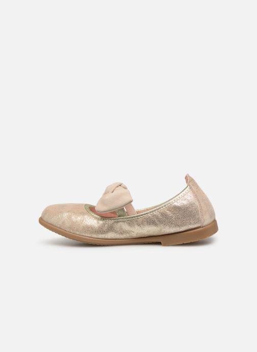 Ballerinas Gioseppo TIUMEN gold/bronze ansicht von vorne