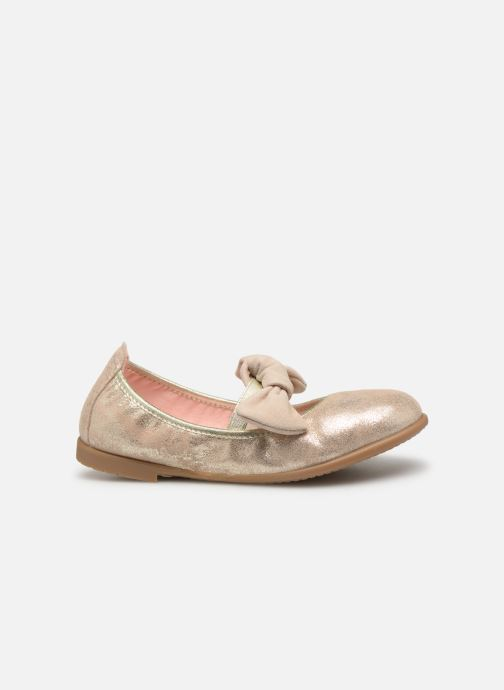 Ballet pumps Gioseppo TIUMEN Bronze and Gold back view