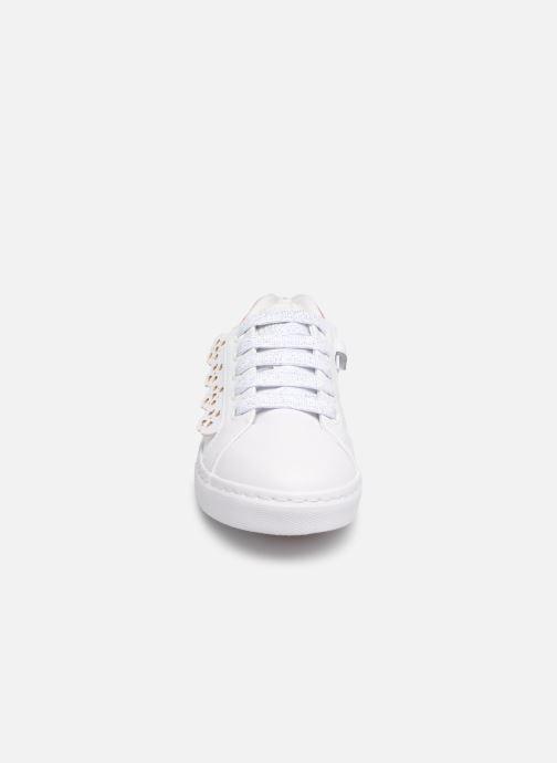 Baskets Gioseppo ANZOLA Blanc vue portées chaussures