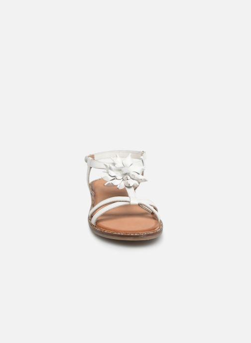 Sandales et nu-pieds Gioseppo ROUBAIX Blanc vue portées chaussures