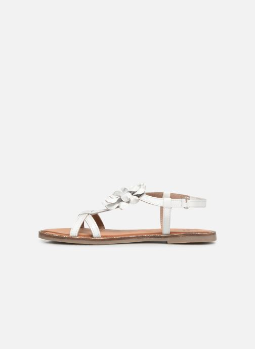Sandales et nu-pieds Gioseppo ROUBAIX Blanc vue face