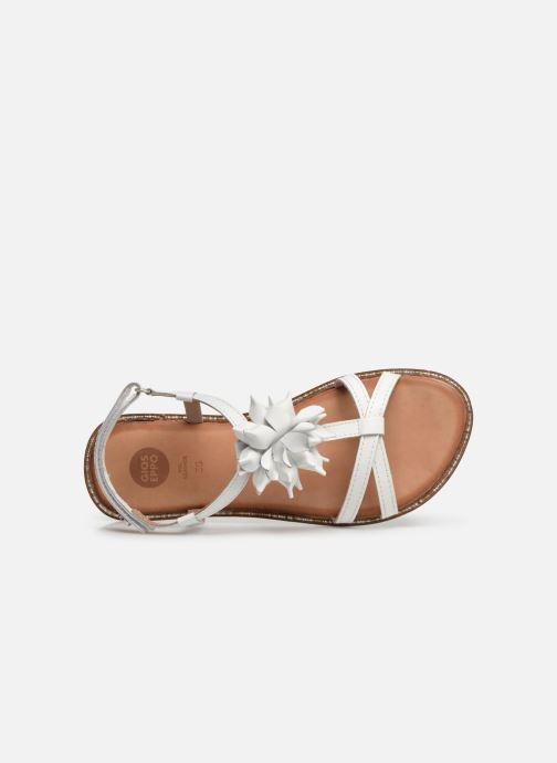 Sandales et nu-pieds Gioseppo ROUBAIX Blanc vue gauche