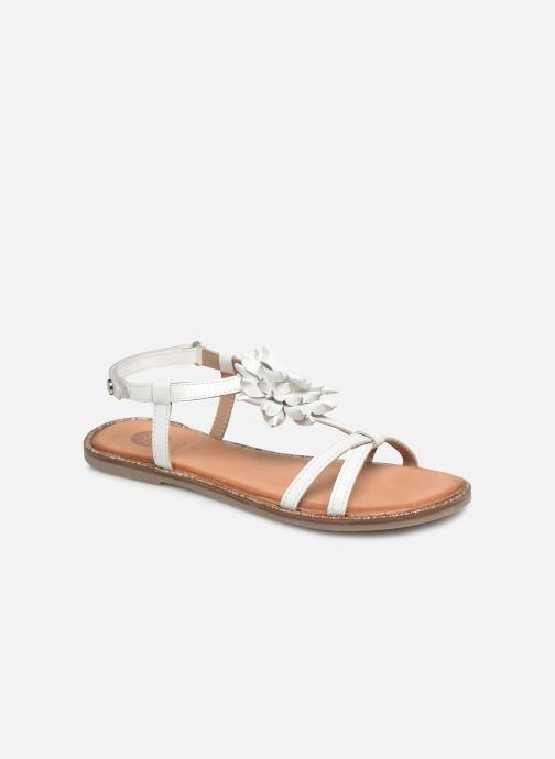 Sandales et nu-pieds Gioseppo ROUBAIX Blanc vue détail/paire
