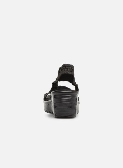 Sandaler Skechers Parallel Tumblewave Svart Bild från höger sidan