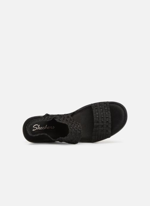 Sandaler Skechers Parallel Tumblewave Svart bild från vänster sidan