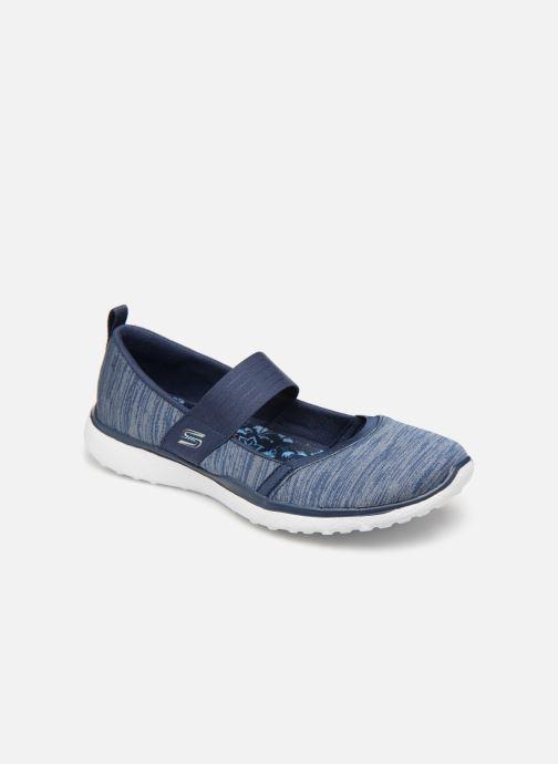 Skechers Microburst (blau) Ballerinas bei (364347)