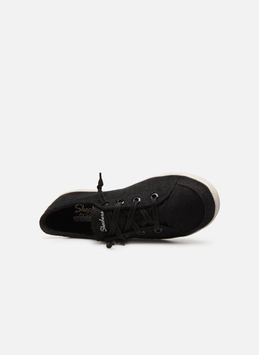 Sneaker Skechers Madison Avenue Inner City schwarz ansicht von links