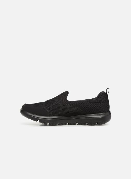 Sneakers Skechers Go Walk Evolution Ultra Zwart voorkant