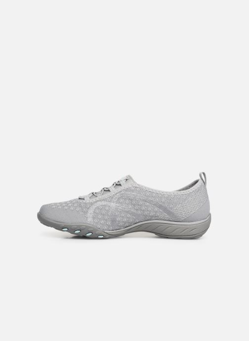 Baskets Skechers Breath-Easy Fortunekni Gris vue face