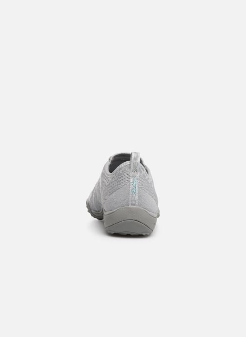 Baskets Skechers Breath-Easy Fortunekni Gris vue droite